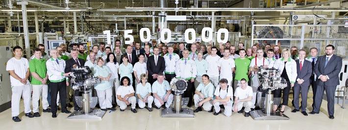 Rekord: SKODA produziert 1,5 Millionen Motoren und Getriebe im Jahr 2014