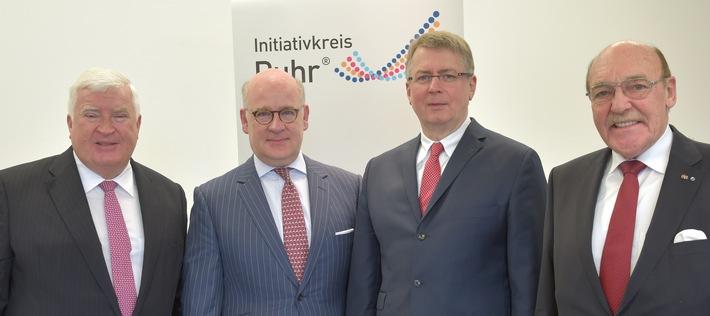 Initiativkreis Ruhr wählt Tönjes und Lange zu seinen künftigen Moderatoren / Amtszeit beginnt am 1. Januar 2016