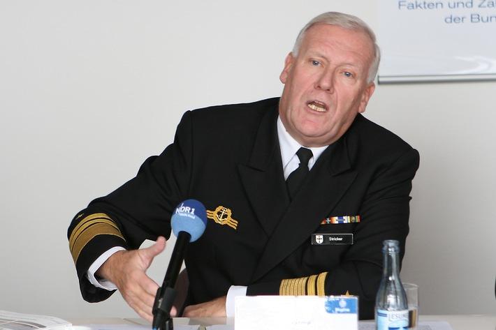 Deutsche Marine - Pressemeldung: Marine-Jahresbericht: Deutschland ist stark abhängig von Seewegen