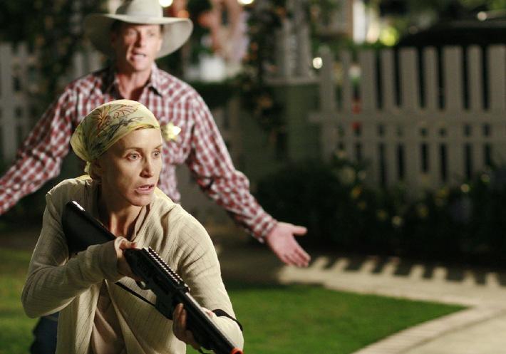 """Desperate Housewife"" Lynette geht auf Jagd"