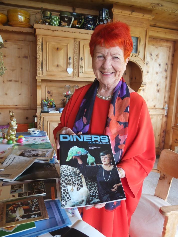 Doris Gisler, grand old Lady - Kopf der Woche der Werbewoche 9/2017