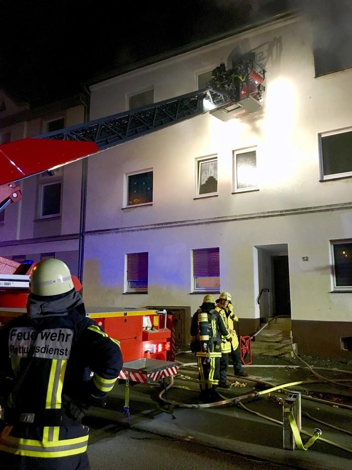FW-BO: Wohnungsbrand in Harpen - Abschlussmeldung