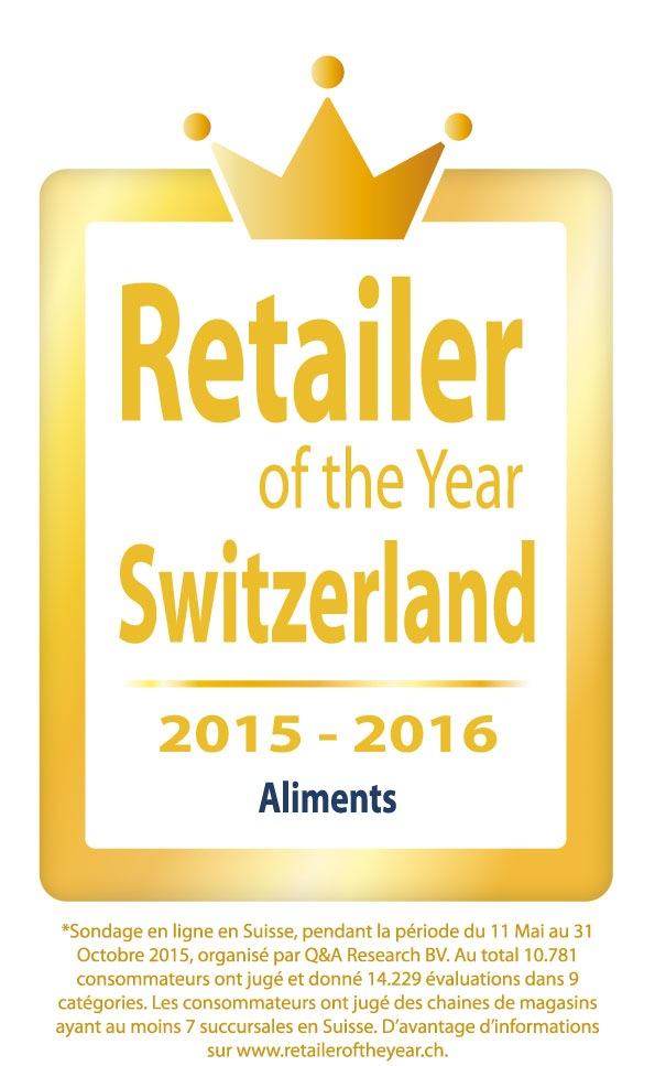 Lidl Suisse, élu pour la première fois « Retailer of the Year »