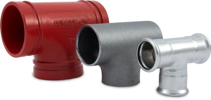 Sertissage, soudage ou coupleurs - comparaison directe de trois systèmes de raccordement de tubes
