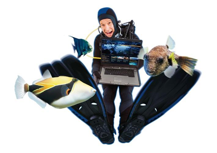 uemis DiveWorld: Internationales Tauchsport Webportal jetzt online mit neuartigen Features
