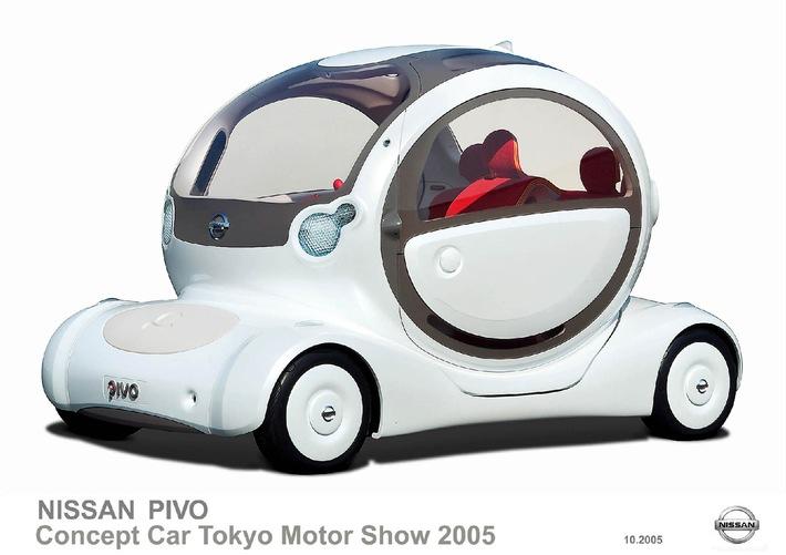 Tokio Motor Show 2005 - Les idées Nissan: De la Pivo à l'Amenio