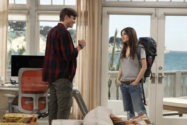 """Alles aus bei Traumpaar Mila Kunis und Ashton Kutcher? Kunis serviert ihn ab - bei """"Two and a Half Men"""" am 7. Oktober auf ProSieben"""