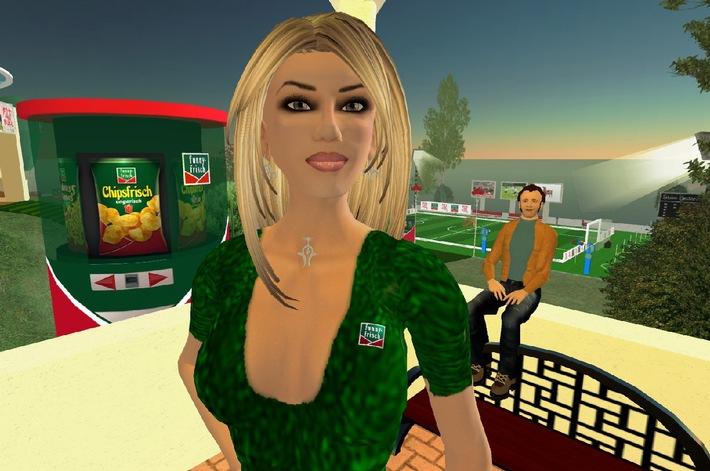 """funny-frisch"" erste Snackmarke im ""Second Life"""