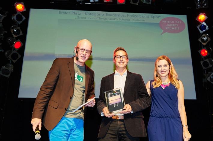 PR-Bild-Award geht erstmals an zwei Unternehmen: Schweiz Tourismus und Mammut Sports Group