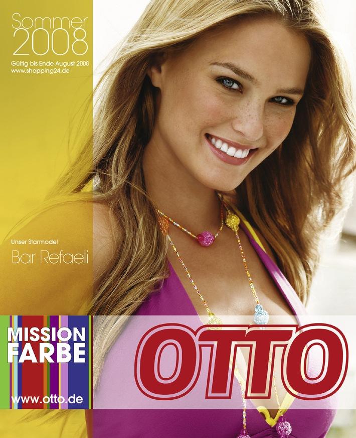 """""""Sommer, wir kommen!"""" - Bar Refaeli eröffnet die Sommersaison 2008 bei OTTO"""