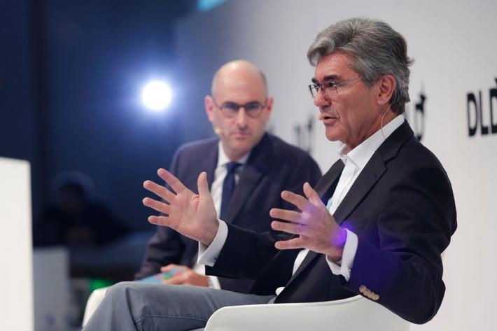 """Siemens-CEO Joe Kaeser bei DLDsummer: """"Geschwindigkeit nicht wichtigster Faktor bei Digitalisierung"""""""