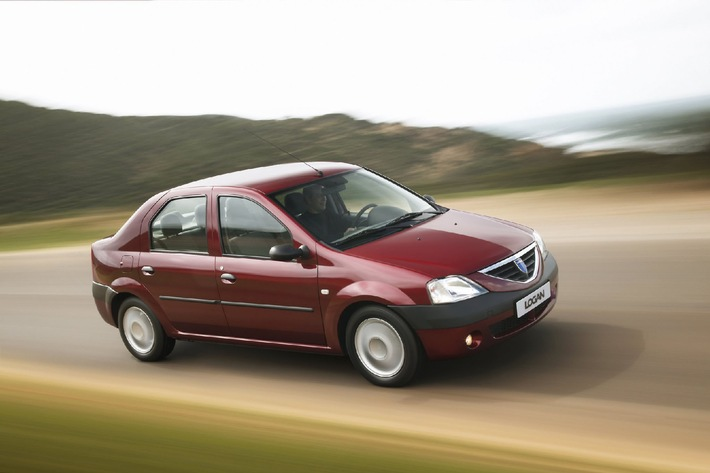 Verkaufszahlen 2007: Dacia legt in der Schweiz um 125% zu