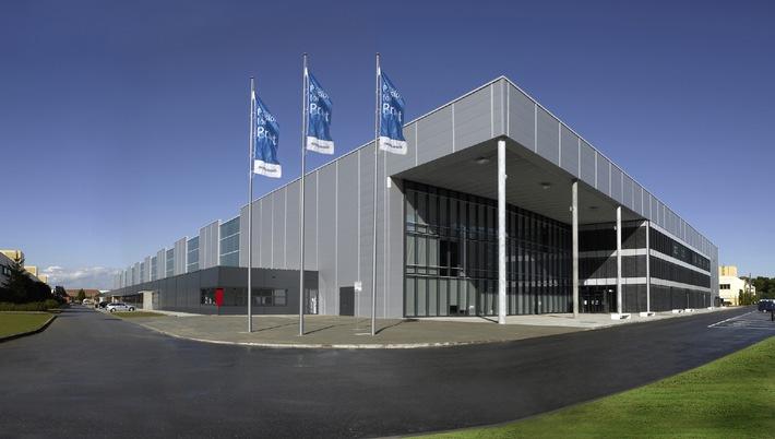 Heidelberger Druckmaschinen AG: Heidelberg weiht neue Montagehalle am Standort Wiesloch-Walldorf ein