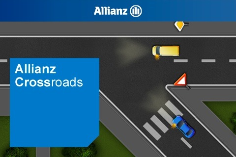 Allianz Suisse - Grünes Licht für neue App / Die letzte Verkehrsschulung liegt schon ein paar Jahre zurück - wer kennt die Vortrittsregeln noch? (Bild)