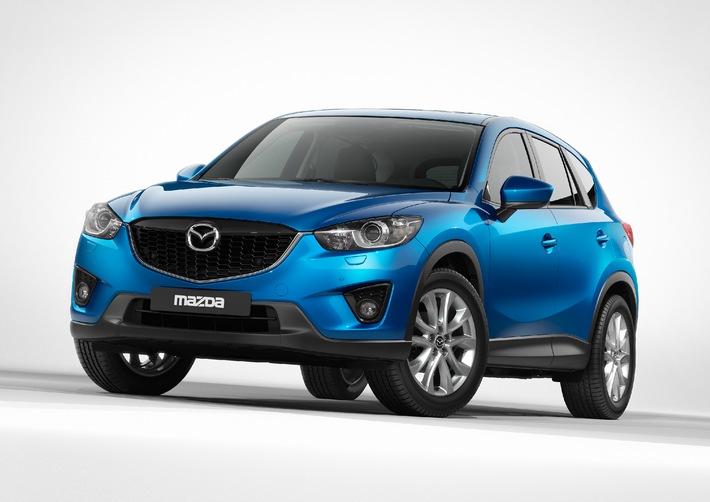 Mazda CX-5: Der kompakte Crossover mit Spitzentechnologie zu einem attraktiven Preis