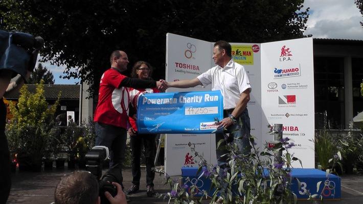Powerman Zofingen: Charity-Lauf für muskelkranke Menschen