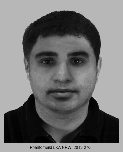 POL-D: Überfall in Friedrichstadt - Wer kennt den Spielhallenräuber? - Polizei fahndet öffentlich - Phantombild hängt als Datei an
