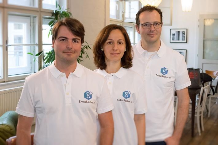 Wiener Putzportal ExtraSauber.at bietet Wohnungsreinigungen zum Pauschalpreis