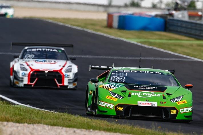 Grasser Racing: Attacke beim Heimrennen auf dem Red Bull Ring mit drei Lamborghini