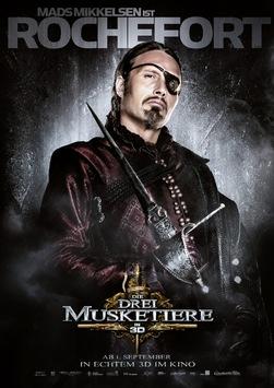 Hauptplakat und charactermotive von die drei musketiere online mit