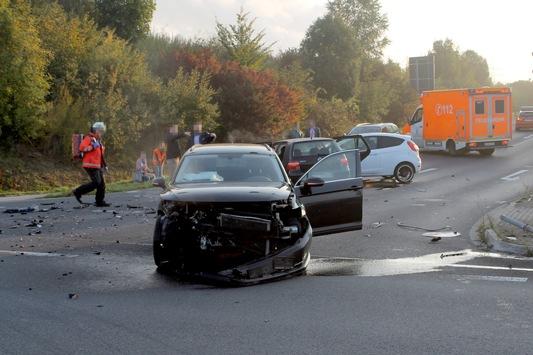 POL-AC: Schwerer Unfall an der Autobahnabfahrt Eschweiler Ost