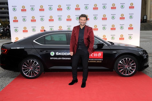 ECHO Klassik 2015: SKODA als exklusiver Mobilitätspartner am roten Teppich