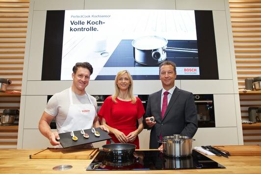 Köstliche Gerichte - perfekt gestemmt / Inge und Matthias Steiner präsentieren die Hausgeräte-Innovationen von Bosch zur IFA 2015