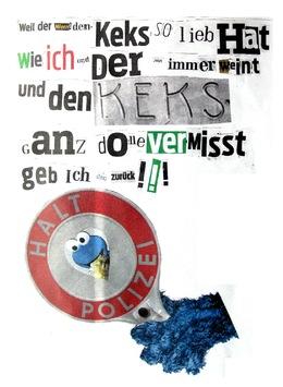 POL-H: Nachtragsmeldung - Unbekannte stehlen vergoldeten Leibniz-Keks  Neuer Brief eingegangen