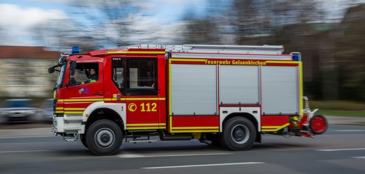 FW-GE: Zwei Verkehrsunfälle beschäftigen die Feuerwehr Gelsenkirchen