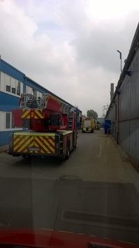 FW-GE: Brennender Schaltschrank verursacht Sachschaden