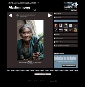PR-Bild Award 2012: Abstimmung über die besten Fotos des Jahres