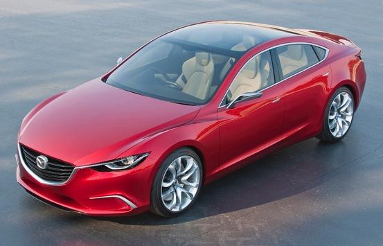 Le concept Mazda TAKERI présenté pour la première fois en Europe au Salon de l'automobile de Genève 2012