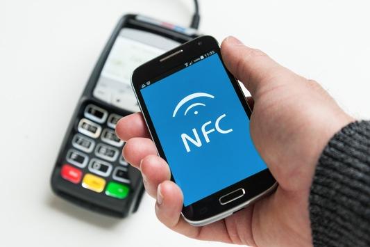 Zahlvorgang mit dem Handy
