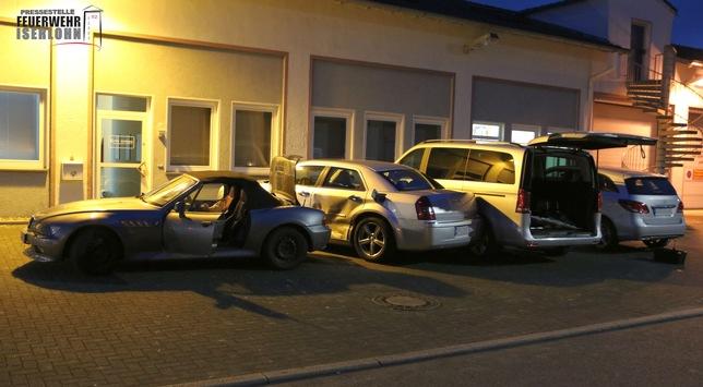 FW-MK: Verkehrsunfall in der Corunna