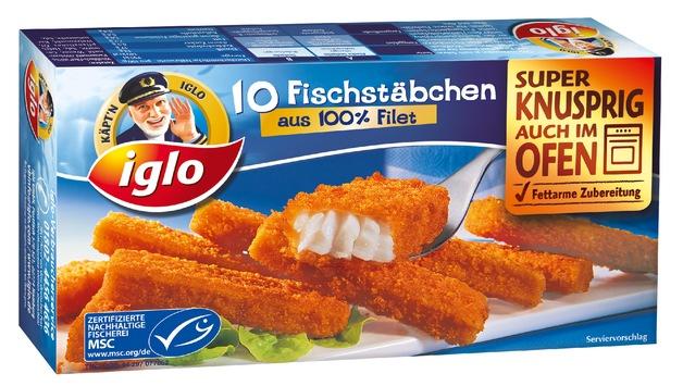 iglo Fischstäbchen: Neue TV-Abenteuer mit Käpt'n iglo