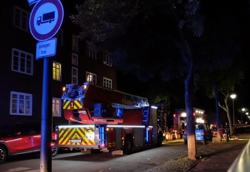 FW-GE: 3 Verletzte bei Feuer in Bulmke-Hüllen