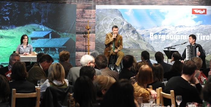 Bergsommer Tirol - Die Tirol Werbung startet ihre neue Kampagne offiziell auf der ITB in Berlin