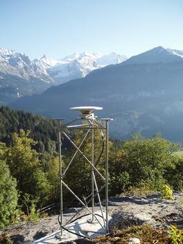 Erweiterung des satellitengestützten Präzisionsmessnetzes