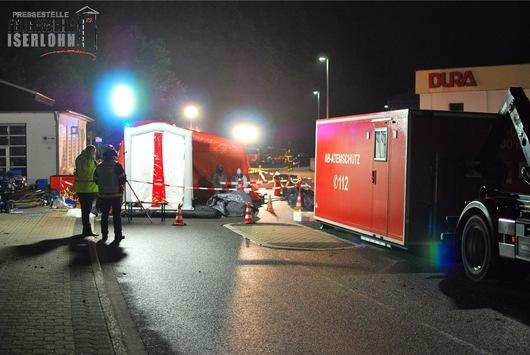 FW-MK: Überörtliche Hilfe – Großbrand in Plettenberg