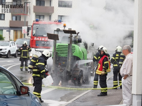 FW-MK: Bagger fing Feuer