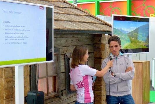 Tirol auf der Bike Expo München