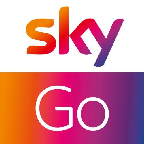 Sky Go App Schwarzes Bild