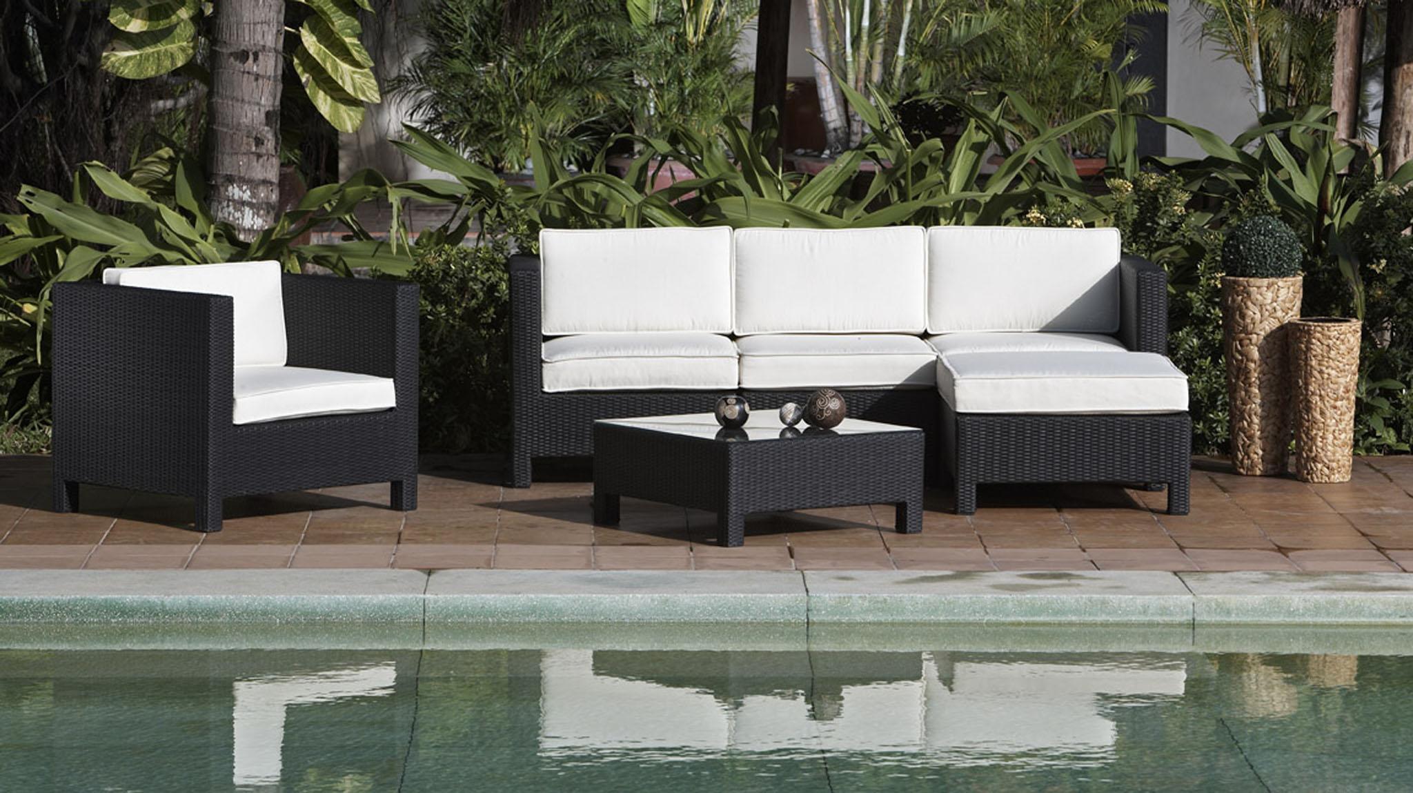 chez conforama les meubles de jardin sont en f tes presseportal. Black Bedroom Furniture Sets. Home Design Ideas