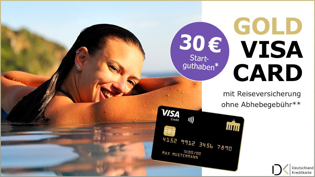 Visa Deutschland Kreditkarte Classic Und Gold 30 Euro
