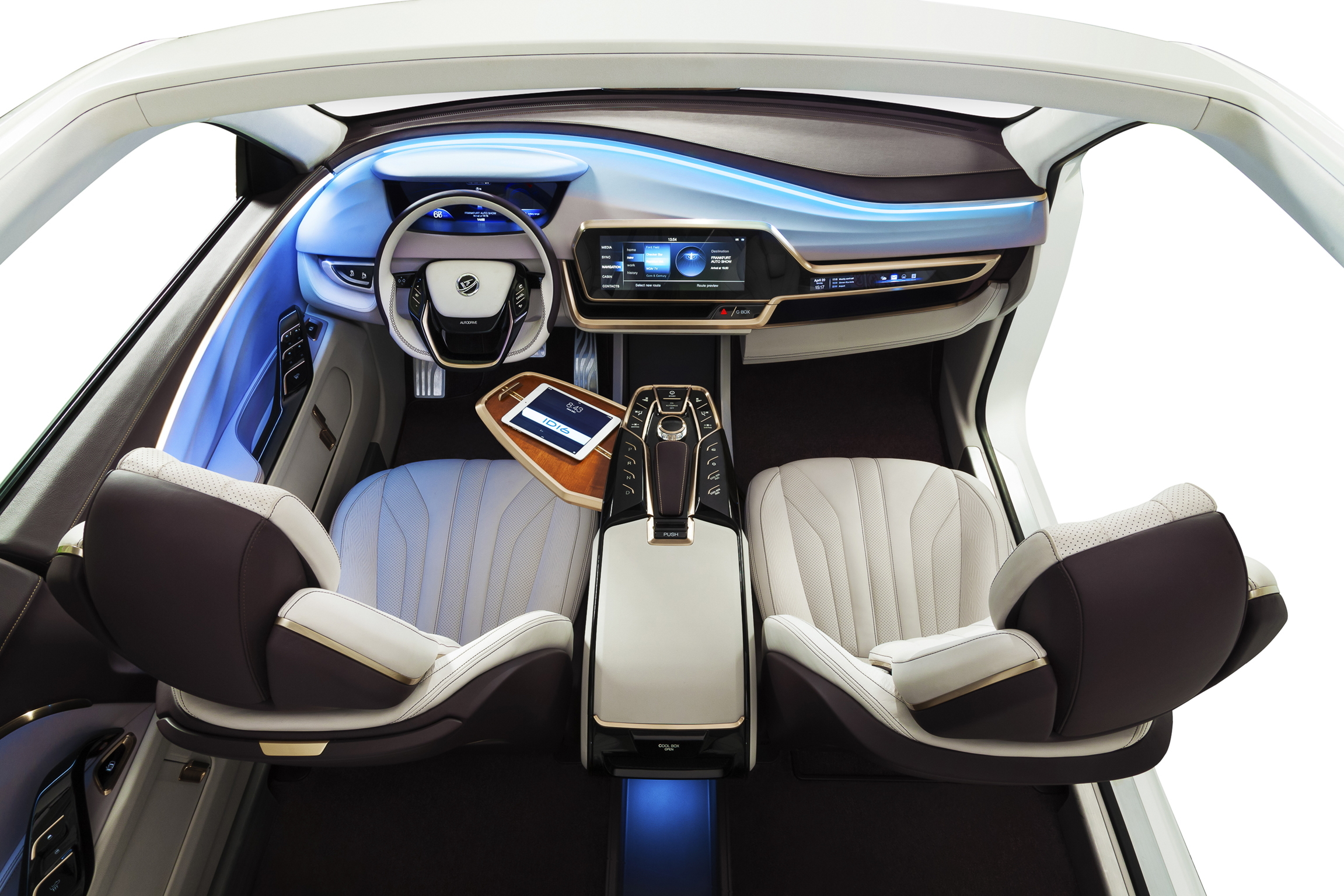 Yanfeng Automotive Interiors' ID16 Concept Makes Its Global Debut At The IAA / What