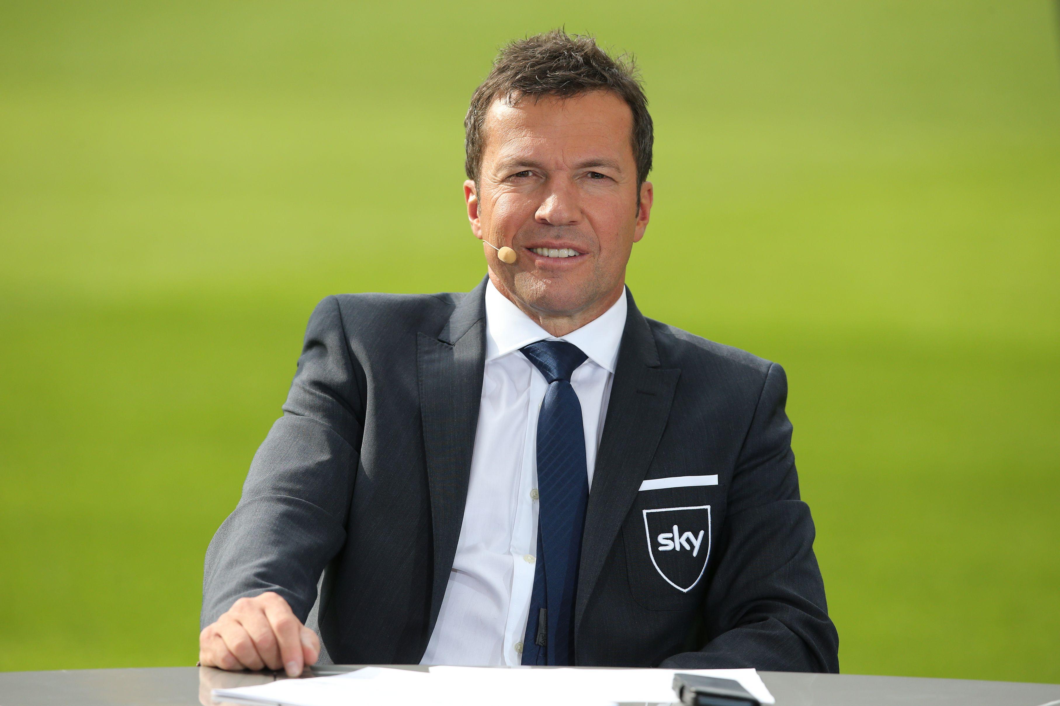 Sky Experte Lothar Matthaus Vor Bvb Fc Bayern Robbens