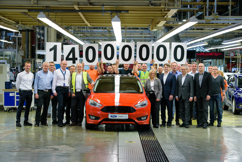 14 Millionen Ford Modelle Ab Werk In Saarlouis Begeht Produktionsjubiläum Pressemitteilung Werke Gmbh