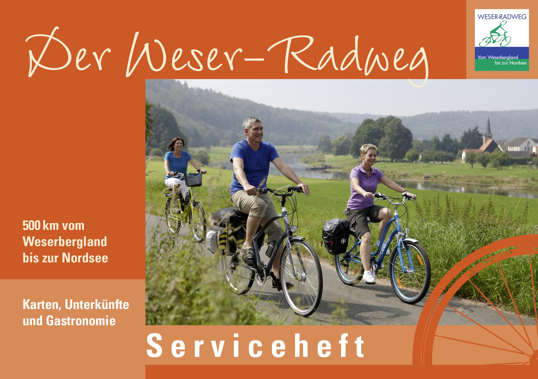 Weser Radweg Karte Pdf.Erstes Kostenfreies Serviceheft Für Den Weser Radweg Erschienen