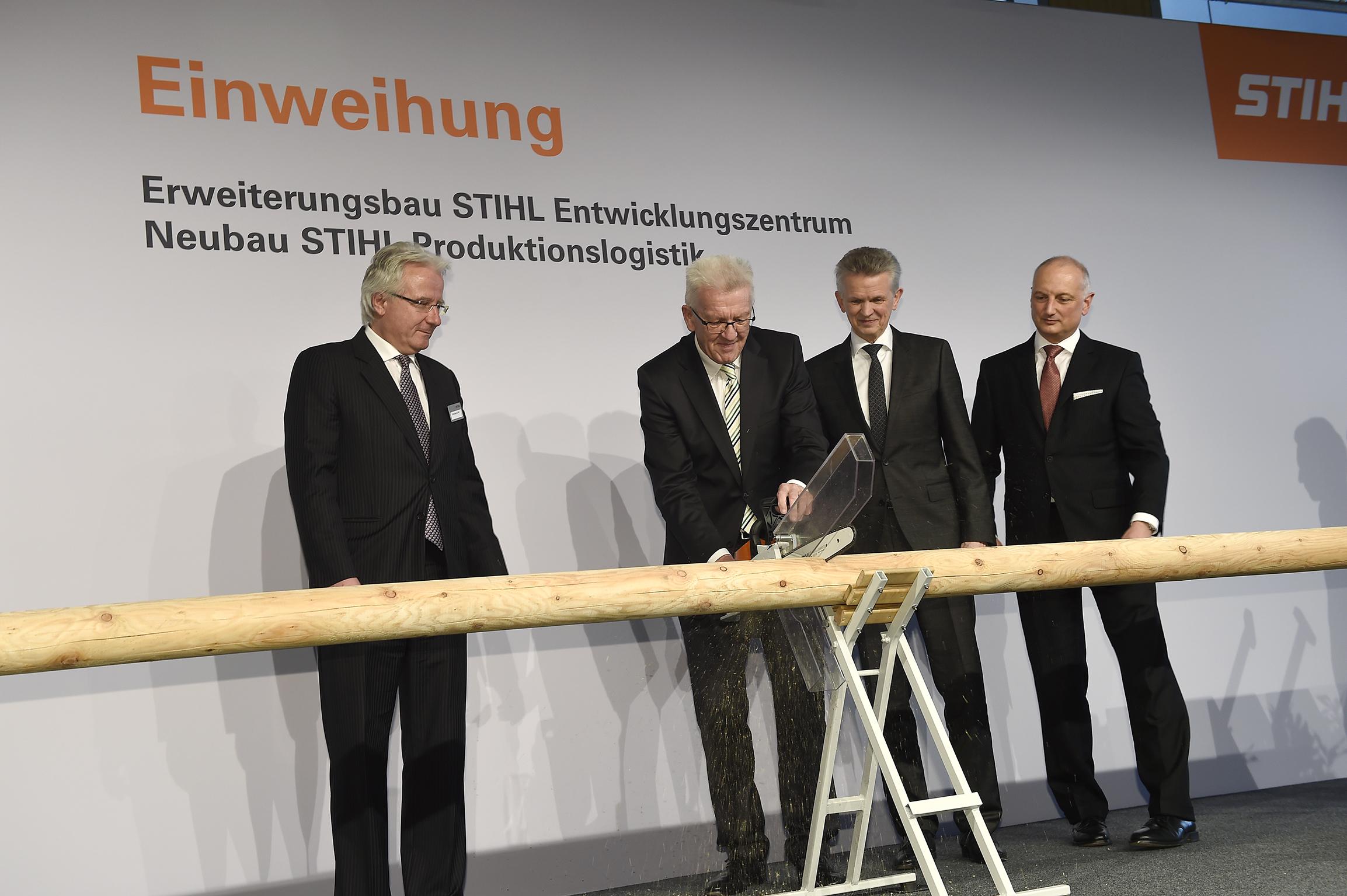 ▷ STIHL weiht Neubauten für 90 Millionen Euro ein