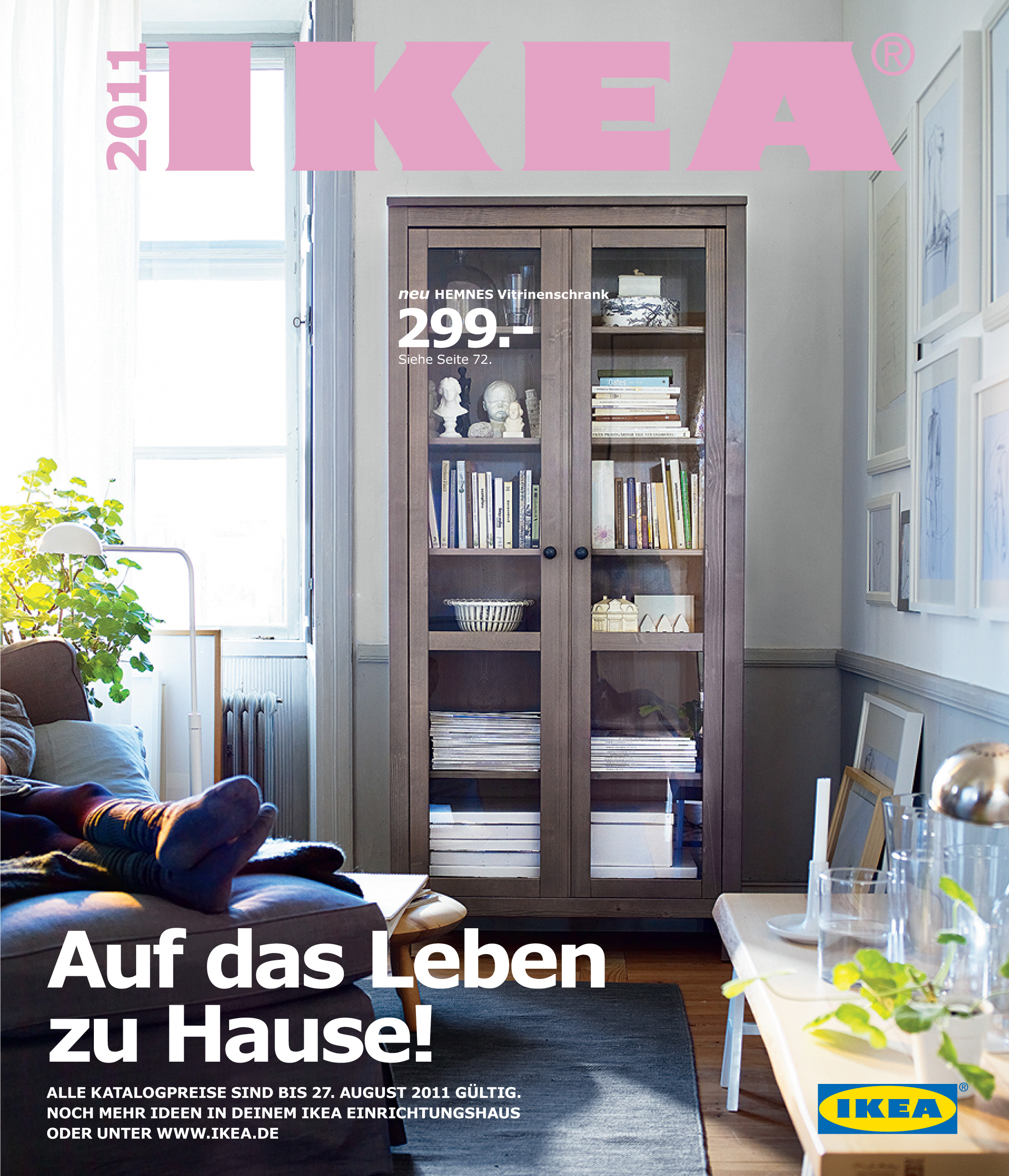 hereinspaziert der neue ikea katalog 2011 ist da. Black Bedroom Furniture Sets. Home Design Ideas